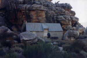 The hut near Crystal Pools