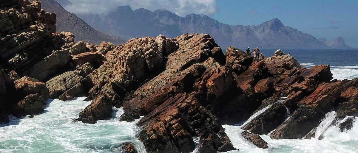 Paddling to Steenbras mouth